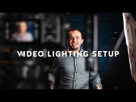 Video Lighting Setup Tutorial