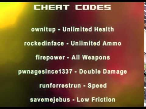 wpn fire cheat codes