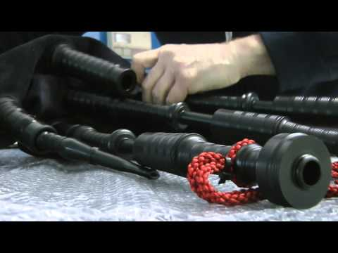 Bagpipe Assembly - Part 10 (fitting drones reeds & the Apps Kit)