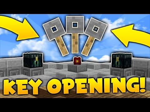 CRATE KEY OPENING on Minecraft SKYBLOCK | Minecraft Skyblock #3