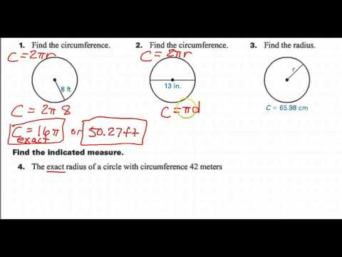 How to Find the Circumference Given the Diameter
