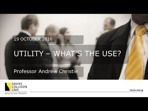 DCC Singapore: Andrew Christie on Utility