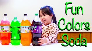 Learn Colors with colours Soda Kids fun for Children, Toddlers and Babies