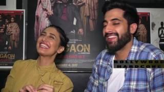 Ragini Khanna,Akshay Oberoi Interview for Film Gurgaon