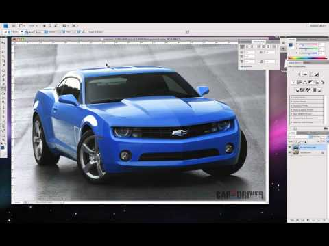 Easy Change Color of Car - Photoshop CS4 and CS5 (and remove watermark) - Easy How to