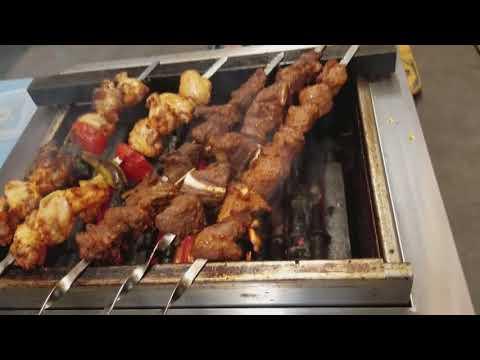 Kebab broiler -the Kosei Infrared griller