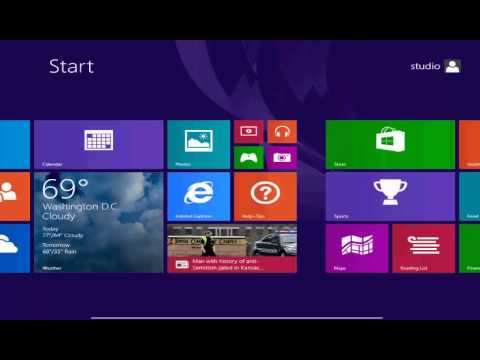 HACK ! HOW to run windows 8.1 Apps on not supported 10 inch screens - 2015