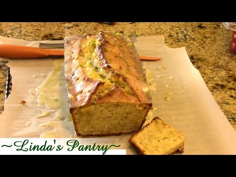 ~Lemon Lime Zucchini Bread With Linda's Pantry~