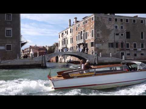 Boating Through the Canals of Venice