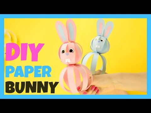 Paper Bunny Craft - simple bunny craft idea