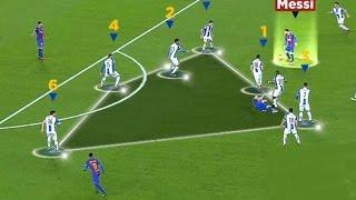 Lionel Messi - Magic skill vs Espanyol ( 2 asist + GOAL ) 2016 ll HD