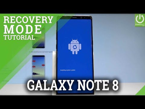 Recovery Mode SAMSUNG Galaxy Note8 - Enter & Quit Recovery