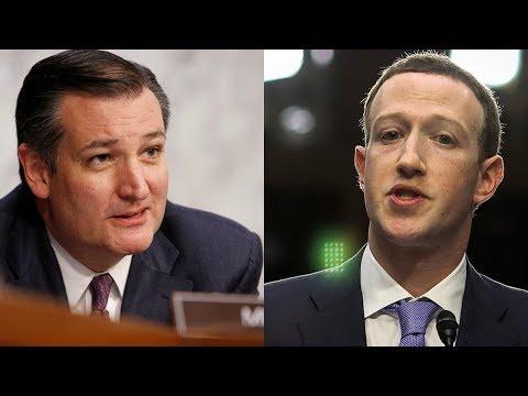 Ted Cruz grills Mark Zuckerberg