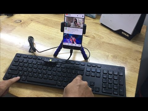Control your Android phone using the keyboard