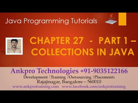 Java for beginners - Chapter 27 : Collections in Java Part 1 - ArrayList (add(), addAll(), clear())