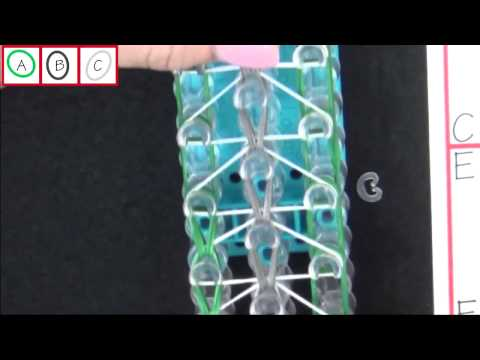 How to make a Rainbow Loom Triple Single Backpack Tag New 2014