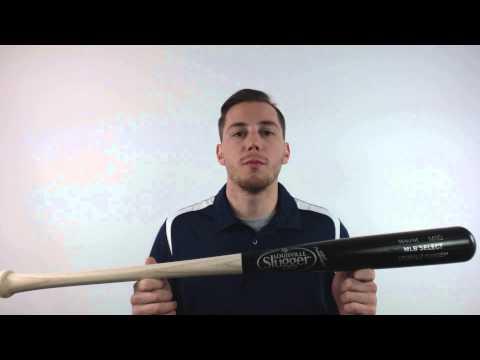 Louisville Slugger Ball Player Select Ash M110 Wood Baseball Bat: WBBP14P10-CGW