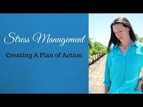 Stress Management Creating A Plan of Action