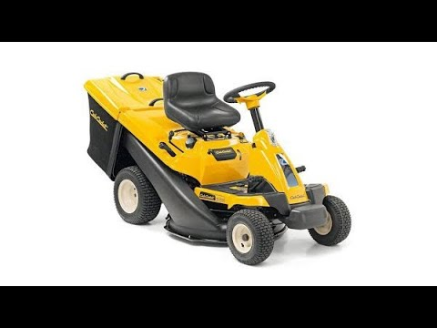 Unboxing and testing Cub Cadet 30 / 30H Lawn Tractor Mower