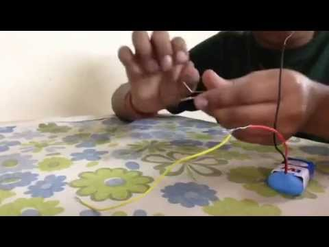 How to make an electric circuit