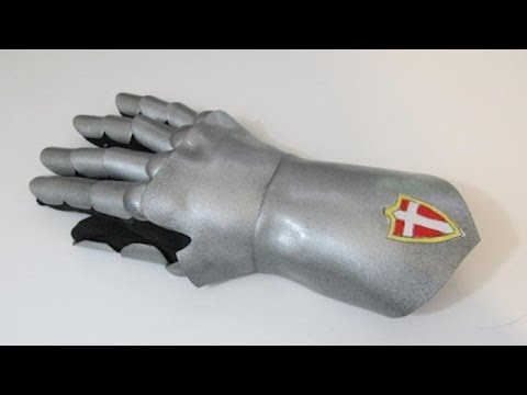 How to make Gauntlets with craft foam