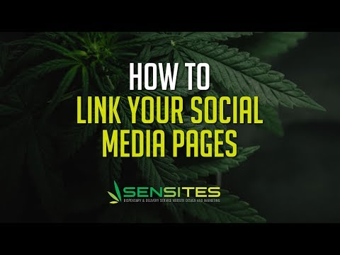 How to Edit the Social Media Links on Your Dispensary Website Theme - Sensites