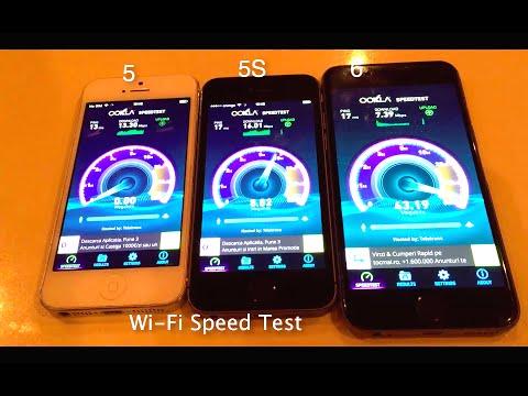 iPhone 6 vs 5S vs 5 Benchmark & Speed Test