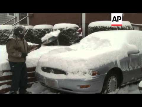 Residents in the Boston area and across New England are coping with another winter storm that is exp