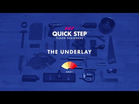 How to install an underlay  | Tutorial by Quick-Step