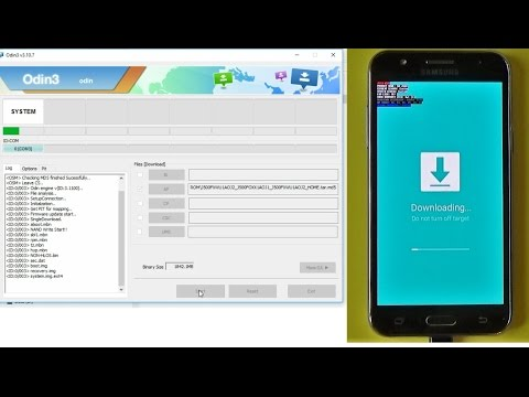 Samsung Galaxy J5 J500F - How to install firmware with Odin