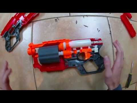 The ULTIMATE Nerf Mega Cycloneshock Mod Guide (Full plunger and cylinder overhaul)