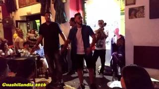 """Comparsa """"Los Cobardes"""" (2016) - Piojo, Juan Gamaza, Kevin Ponce y Fran Rueda - Presentación"""