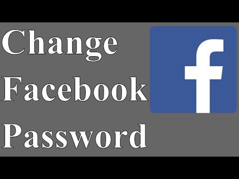 How to Change Facebook Account Password in Urdu / Hindi 2018