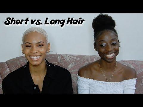 Long Hair vs. Short Hair Pros & Cons | Should You Big Chop?