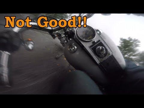 Despacito makes Harley Crash. Harley Davidson Motorcycle Crash