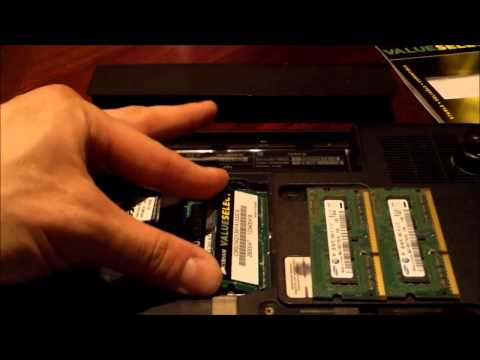 HOW TO INSTALL RAM / Memory laptops notebooks PCs Computers upgrade review