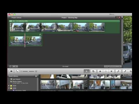 iMovie '09 Audio Ducking Bug?
