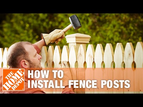 How to Install Fence Posts