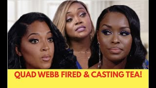 Quad Webb FIRED, Dr. Jackie Makes Threats & More 'Married To Medicine' Tea!