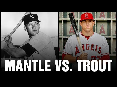 Mickey Mantle versus Mike Trout: Battle of Game-Used Bats