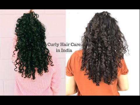 Indian Curly Hair Routine - 3A/3B/Botticelli Curls