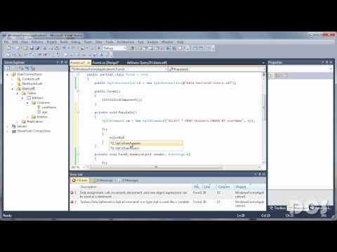 C# - DELETE records from database