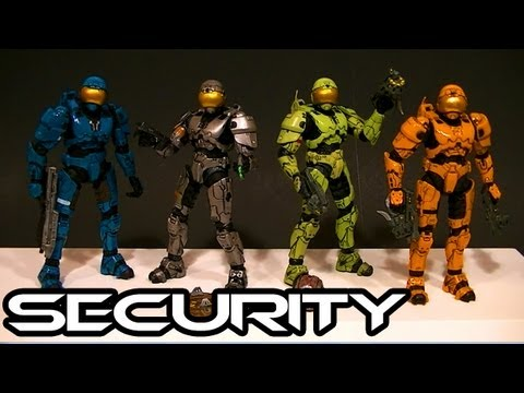 McFarlane Halo 3 SECURITY ARMOR Comparative Figure Review