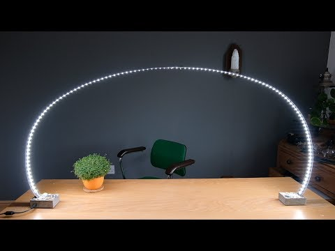 3 inventive lighting projects using LED strips