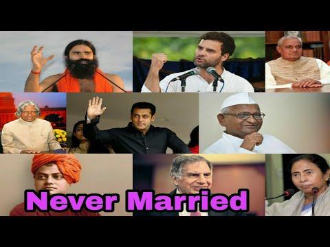 Indian Famous People Who Never Married | Salman Khan | Atal Bihari Vajpayee | Karan Johar | Rekha |