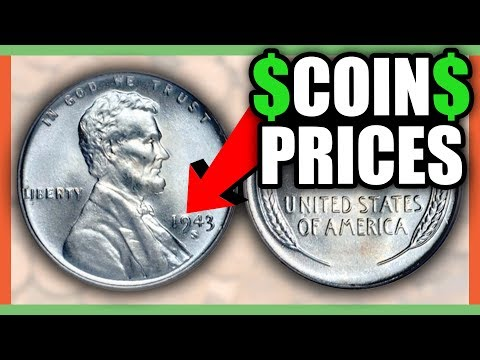 WHAT IS A 1943 STEEL PENNY WORTH - RARE PENNY WORTH MONEY!!