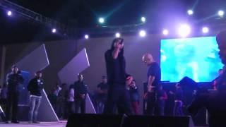 Bohemia challenging H.Singh live at Aranya 2k13 Thapar Univeristy-Patiala