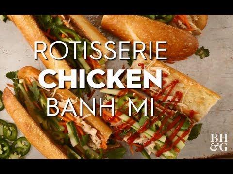 Banh Mi Sandwich  | Fast & Fresh | Better Homes & Gardens