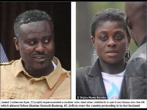 Illegal immigrant stole dead mother's identity to get into Britain from Ghana before stealing £100,0