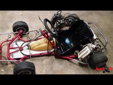 CR80 Shifter Kart Build   Update #5 & First Start Up